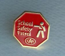 School Safety Patrol Lapel Hat Souvenir PIn