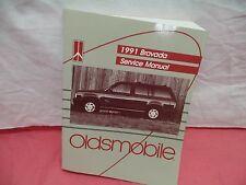 1991 Oldsmobile Bravada Repair Service Shop Manual in GM Dealerships