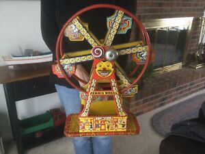 Vintage J. Chein Tin Toys Ferris Wheel