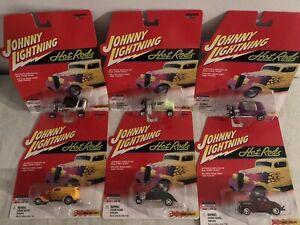 Johnny Lightning Hot Rods, 6 car lot
