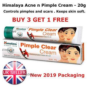 Himalaya Herbals Acne n Pimple Face Cream Spots BlackHead Blemish Treatment- 20g