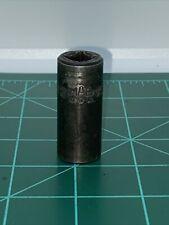 Mac Tool Xdp166 Impact Socket Deepwell 12 6 Point 38 Drive