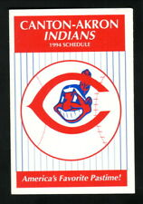 Canton-Akron Indians--1994 Pocket Schedule--Life Savers/Gummi Savers
