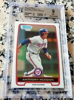 ANTHONY RENDON 2012 Bowman Chrome #1 Draft Pick Rookie Card RC BGS 9 9.5 10 HOT