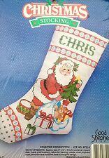 Good Shepherd 87216 Counted Cross Stitch Kit Christmas Stocking Personalized