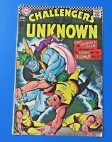 CHALLENGERS OF THE UNKNOWN #57 ~ DC SILVER AGE COMIC BOOK 1967 ~ FN-
