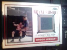 2014 Topps WWE Chrome Brock Lesnar Royal Rumble Authentic Mat Relic MINT