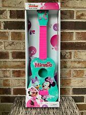Disney Junior Minnie Mouse 22'' Pink & Teal Music Guitar