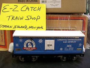 MTH Lionel Corp. No.514R Std. Gauge North Pole Merry Christmas Refrigerator Car