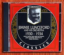 JIMMIE LUNCEFORD  1930 - 1934  CD The Classics Chronological Series 501 Like New