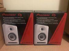 Pioneer S-DJ50X-W (white) Pair of 5-inch studio monitors. Brand new.
