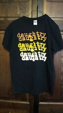 Daughtry Baptized Tour T-Shirt Medium Cotton, Black  pre-owned