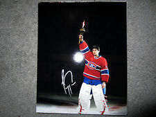 CAREY PRICE Montreal Canadiens MVP Hart SIGNED Autographed 8x10 photo w/ COA