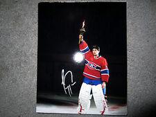 CAREY PRICE Montreal Canadiens MVP Hart SIGNED Autographed 8x10 photo w/ COA