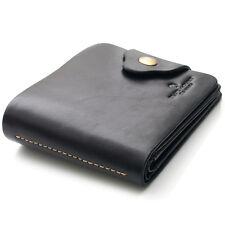 Black Mens Clutch Wallet 15 Credit Card Holders Zipper Coin Pocket Purse