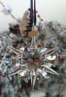 2002 *AS IS* SWAROVSKI ANNUAL LARGE CHRISTMAS ORNAMENT STAR SNOWFLAKE #288802