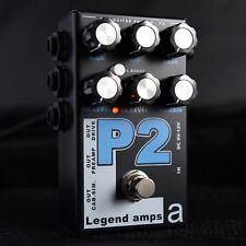 AMT Electronics Legend Amps 2 P2 2-Channel JFET Guitar Preamp / Distortion Pedal