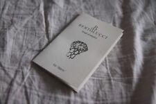 Libricino booklet BERTOLUCCI originale vintage