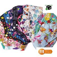 10 pièces Serviette périodique menstruel hygiénique lavable coton bambou
