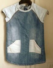 Denim cotton dress by Next size 5 years