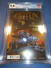 Dark Nights Death Metal #2 Great Foil Cover CGC 9.8 NM/M Gem 1st Robin King Key