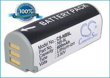 3.5 V Batteria per Canon NB-9L, IXY 3, IXUS 1000 HS, IXY 1, PowerShot SD4500 IS