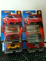 Rare Hot Wheels 2007 Ferrari Racer Lot Of 4