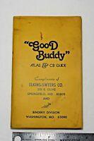 Vintage Atlas Good Buddy Atlas & Cb Guide Book Map pocket Atlas Elkins-Swyers