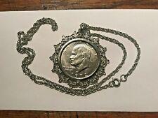 1972 Eisenhower Dollar Necklace #18089