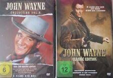 John Wayne Edition/Collection  (2 DVDs) 8 Stunden Laufzeit - NEU in Folie (724)