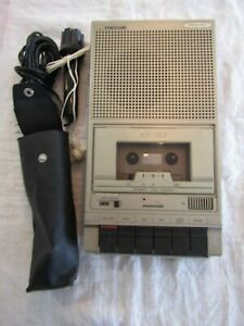 VINTAGE CASSETTE PLAYER TAPE RECORDER FERGUSON 3T27 with correct mic