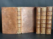 VIRGILE Poésies 4 VOLUMES COMPLET 18 PLANCHES 1 CARTE DEPLIANTE LITTERATURE 1729