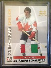 2015 LEAF BEST OF HOCKEY PHIL ESPOSITO TEAM CANADA EMBLEM 3 COLOR 1/1