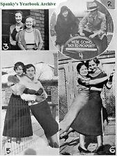 1933 Feb Chicago Schurz High School Yearbook~Photos~HIstory~Football~Hi-jinx~++