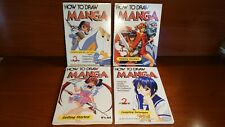1828 How To Draw Manga Books Set of 4 (ENG)