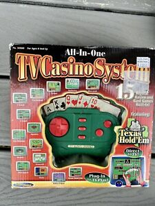 all in one tv casino system vintage texas hold'em 15 card games techno source