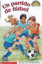 Un partido de futbol (Hello Reader) (Spanish Edition)-ExLibrary