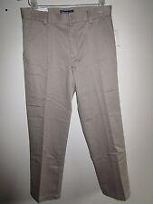 IZOD heritage chino casual pants, size 30 x 30.  Flat front, slim fit.  KHAKI