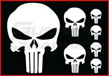 Punisher pack Fits Ford F150 rear window decal   Punisher decals  7 decal set