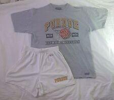 Vintage PURDUE 1996 Big 10 Champs Jansport XL shirt & Champion Shorts XL (40-42)
