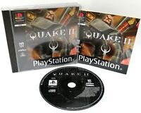 Quake II 2 ~ Sony Playstation PS1 Black Label Game ~ PAL *Very Good Complete*