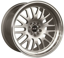 XXR 531 17X10 5X100/114.3 +20 SILVER/Mach Lip WHEELS Fits Civic Veloster Eclipse