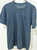Beverly Hills Polo Club: Blue V-Neck T-Shirt Mens Medium