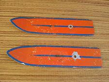 Antike paar ski puppe in alu? spielzeug vintage , old französisch toy