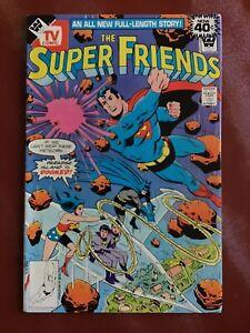 THE SUPER FRIENDS WHITMAN TV COMIC BOOK #15 FRADON AND SMITH SUPERMAN