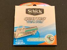 Schick Quattro Titanium Blades - 8 Cartridges