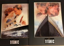 """Titanic Chromium Prints Campaign A & B-Movie Posters, 10"""" X 13"""", New, With COA"""