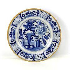 18th Century Dutch Delft Plate
