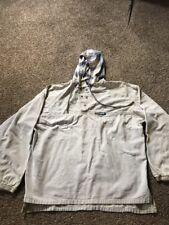Vintage 90s No Fear Hoodie Shirt Tan Sweatshirt Grunge Punk Skater Size XL