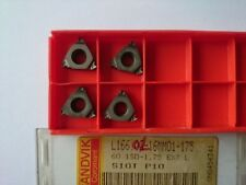 4 inserti SANDVIK Threading L166.0G-16MM01-175 S10T (L 166 EXT LH 1.75mm ISO